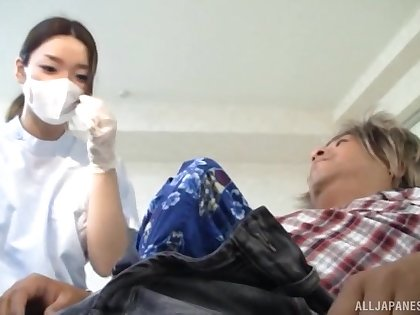 One be required of a difficulty things this hottie loves is jerking a load of shit with their way special