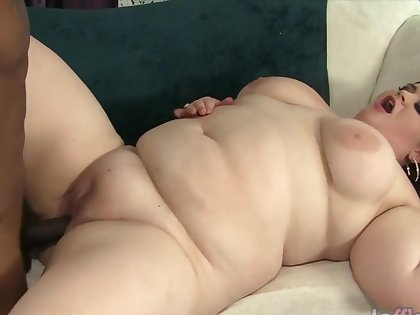 Sexy and horny BBWs interesting chubby black dicks just about buxom pussy and enjoy pussy pounding