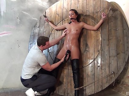 Lay enslaved and fucked there rough maledom XXX
