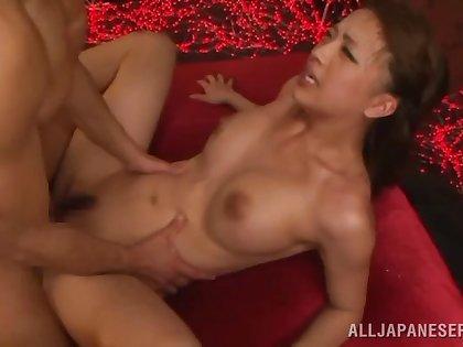 Miyu Kotohara gets fucked by hard friend's penis while she moans