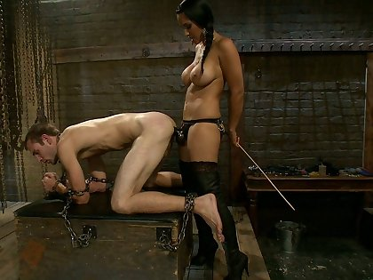 Mistress and say no to pave slave to fuck