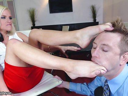 Found Fetish Action In Office - pornstar sex flick