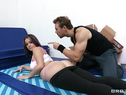 Fasten up photograph of pornstar Sierra Sanders getting fucked in all holes
