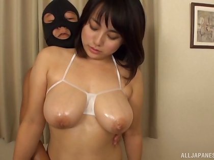 Movie with cock hungry Nana Kiyotsuka and two lucky amateur dudes