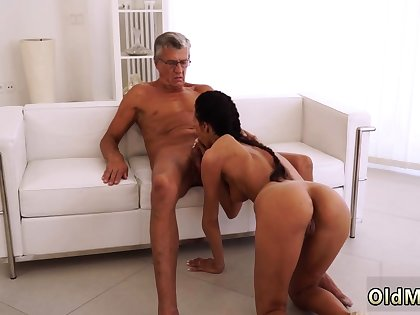 Teen gets plighted and fucked apart from step daddy first stage