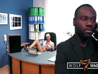 The Boss Bangs His New Office Slattern Lena Lay